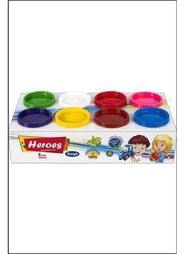 Kitchen Love 8Parça -8Renk Oyun Hamuru Seti-8Adx100Gr-Türkmalı Renkli